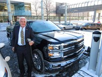 VIA Motors Begins Building Hybrid Silverado Pickup