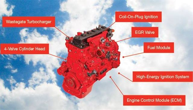 Isx G Natural Gas Engine