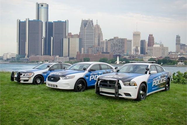 <p>Businesses donated $8 million last year for the city to purchase new public safety vehicles.<em> Photo courtesy of Detroit PD</em></p>