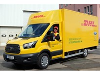 Ford and DHL Preview Transit-Based Electric Van