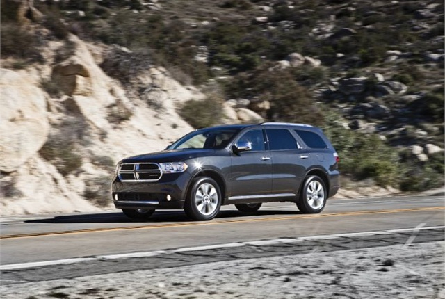 Photo of 2011 Dodge Durango courtesy of Chrysler.