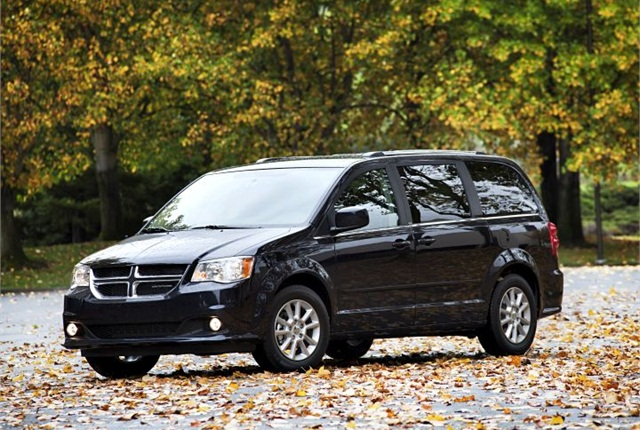 Photo of 2012 Dodge Grand Caravan courtesy of Fiat Chrysler.