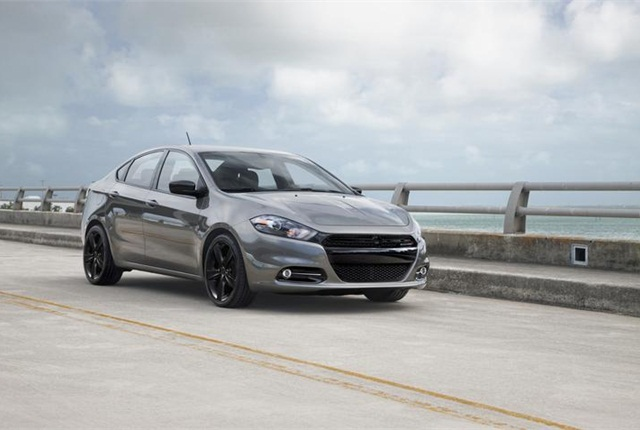 Photo of Dodge Dart courtesy of FCA US.