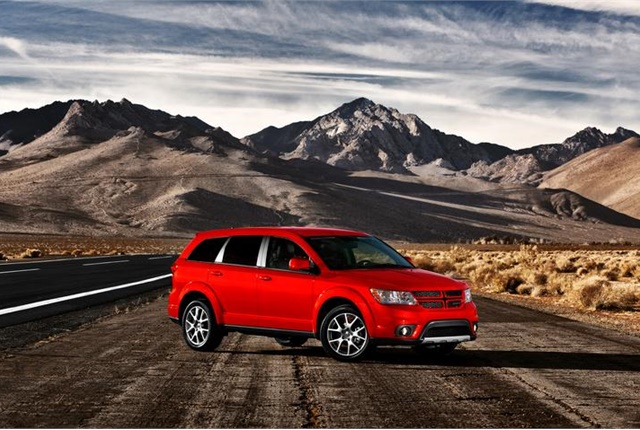 Photo of Dodge Journey courtesy of FCA.