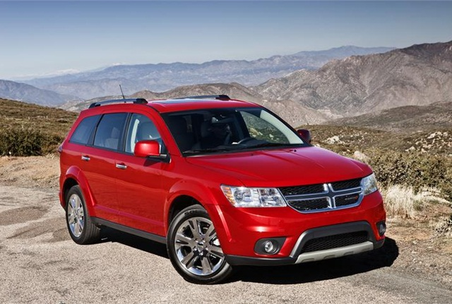 Photo of Dodge Journey courtesy of FCA US.