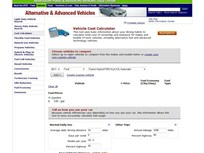 U.S. DOE Launches Vehicle Lifetime Operating Costs Calculator