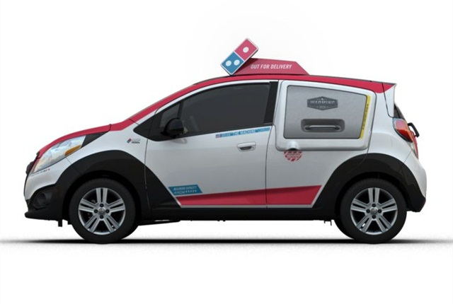 Photo of Domino's DXP courtesy of GM.