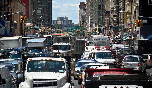 Traffic in New York City Photo: U.S. DOT