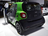 Electric Smart Fortwo Charging Time Halved