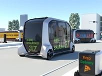 Toyota Reveals New Mobility Alliance, Concept Vehicle
