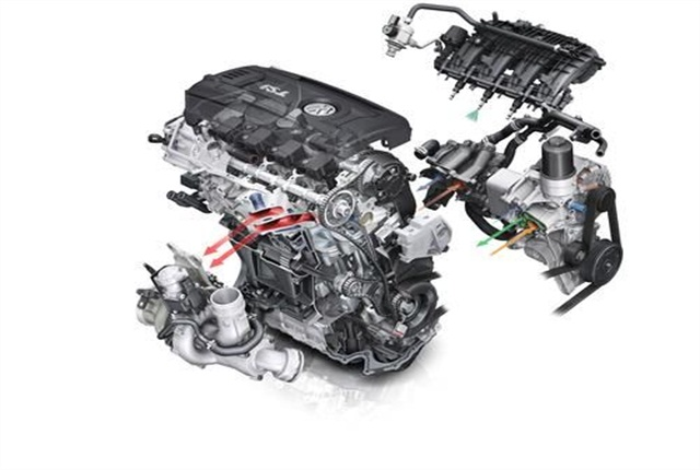 Volkswagen's expanded engine plant in Mexico will produce the EA888 turbocharged and direct-injection TSI engine.