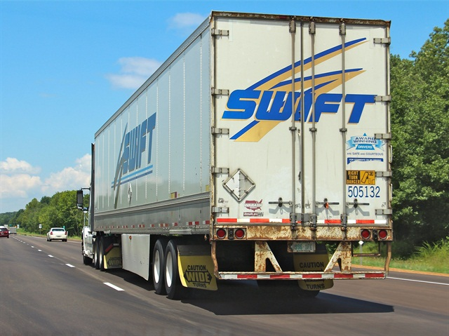 Swift potentially faces claims from drivers over how they were paid. Photo: Evan Lockridge