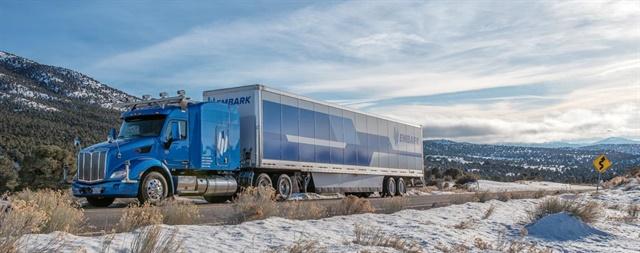 <p><strong>Prototype autonomous truck in Nevada desert.</strong> <em>Photo: Embark</em></p>
