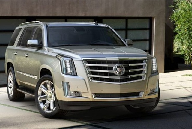 Photo of the 2015 Cadillac Escalade courtesy of General Motors.