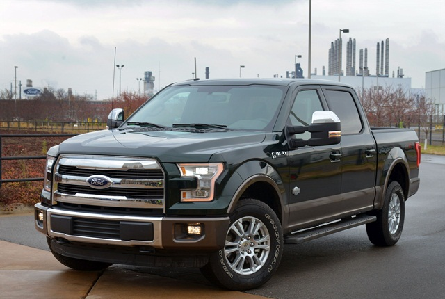 The 2015 Ford F-150 is one of the three finalists for the North American Truck of the Year.