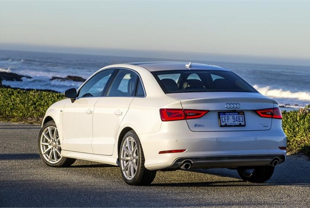 Photo of 2015 Audi A3 courtesy of Audi.