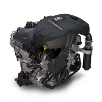 Photo of 3.0L V-6 diesel courtesy of FCA.