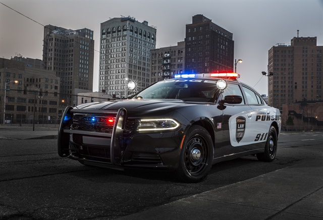 <p>The 2018 Dodge Charger Pursuit features an enhanced version of the optional Officer Protection Package, a system designed to alert officers to movement outside the vehicle that could indicate an ambush.</p>