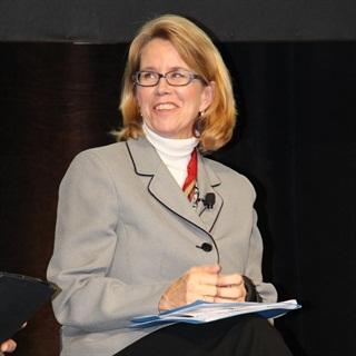 Anne Ferro during the MATS Fleet Forum. Photo: Evan Lockridge
