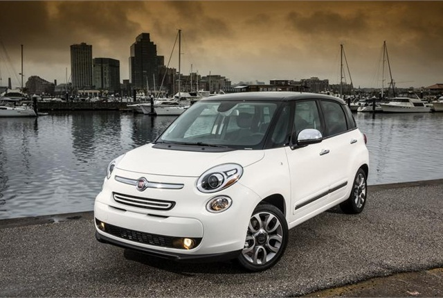 2014 Fiat 500L. Photo courtesy of Chrysler.