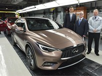 Infiniti Q30 Begins Production in UK