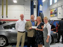 Belding Presents $10K Scholarship Check to Ranken Technical College