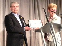 Lee Receives Fleet Safety Award at 2013 Fleet Safety Conference
