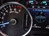 2017 F-150 Adds Gauge Display for 10-Speed