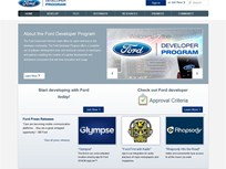 Ford Launches New In-Vehicle App Developer Program