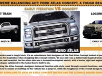 Ford Shows Atlas Concept Pickup Truck Design Evolution