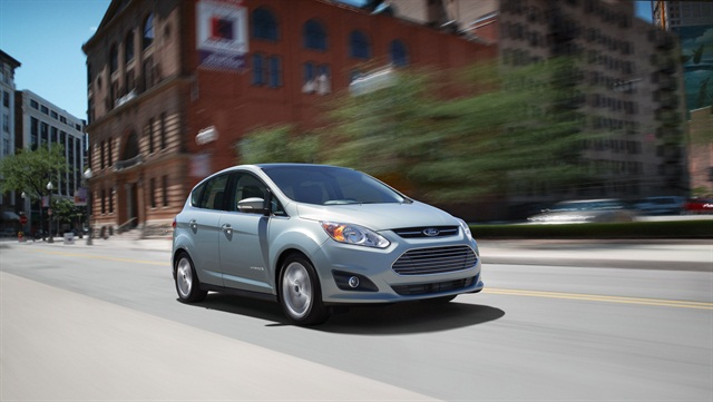 Quest Diagnostics has purchased 150 Ford C-MAX Hybrids for its fleet. Photo courtesy Ford Motor Co.
