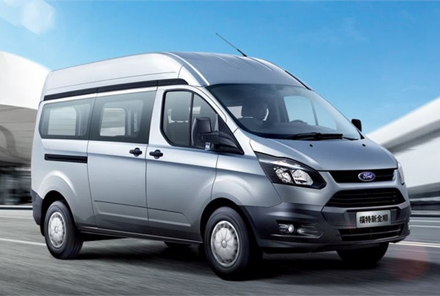 Photo of Transit sold in China courtesy of Ford.