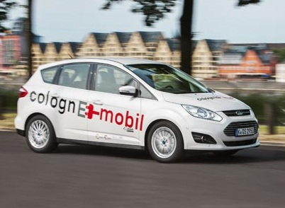 The Ford C-MAX Energi has joined the second phase of the automaker's colognE-mobil