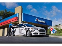 Domino's Testing Self-Driving Fusion Hybrid for Pizza Delivery