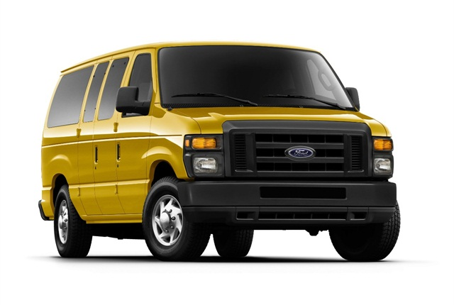 The recalled propane conversion kits are designed for installation on Ford E-Series vehicles. E-Series photo courtesy of Ford Motor Co.