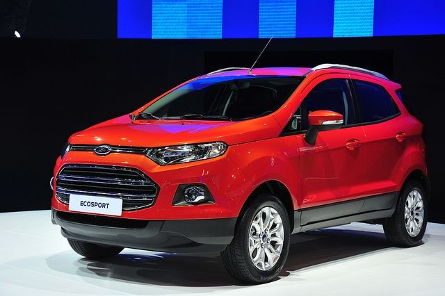 Ford Debuts Ecosport At The Bangkok International Motor