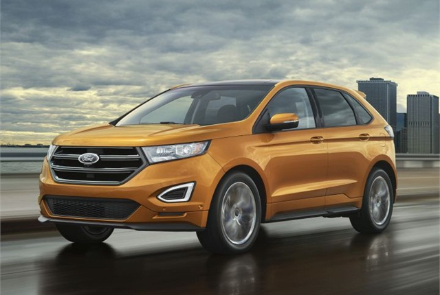 Photo of 2015 Edge Sport courtesy of Ford.