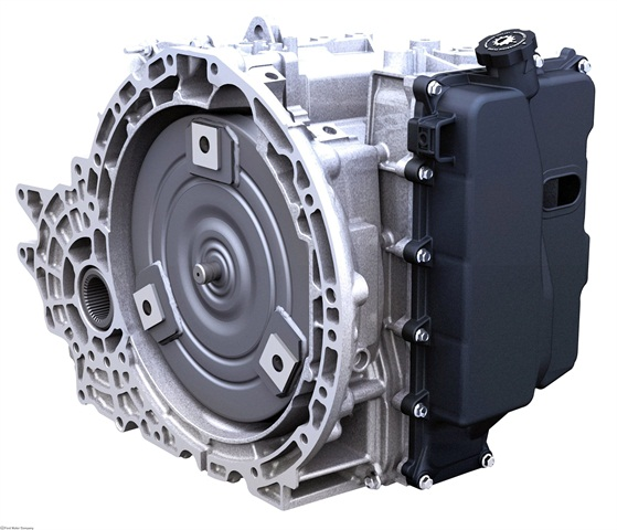 Ford's front-wheel-drive six-speed transmission is used in the Ford Edge, Fusion, and Explorer. Ford and GM collaborated on this transmission. Photo courtesy Ford Motor Co.