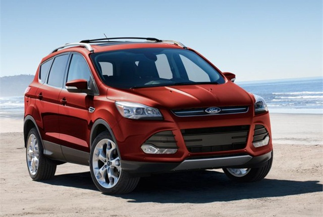 Photo of 2015 Escape courtesy of Ford.