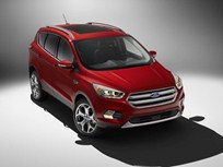 Ford Escape Gets Engine, Safety Upgrades for 2017