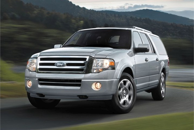 Photo of 2014 Expedition courtesy of Ford.