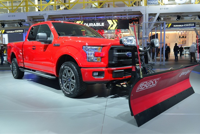 ford adds snow plow prep option to f 150 top news vehicle research top news automotive fleet. Black Bedroom Furniture Sets. Home Design Ideas