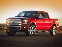 Ford Introduces Aluminum 2015 F-150
