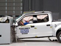 Aluminum F-150 Named IIHS Top Pick