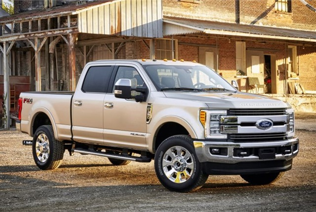 Photo of 2017 F-350 King Ranch courtesy of Ford.