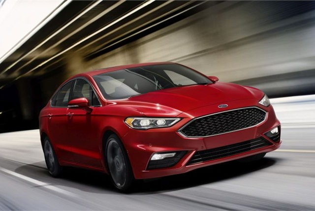 Photo of 2017 Fusion Sport courtesy of Ford.