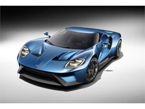 Ford's GT Supercar Lightens Weight with Carbon Fiber