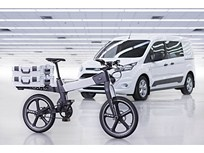 Ford Pairs Electric Bicycle With Transit Connect