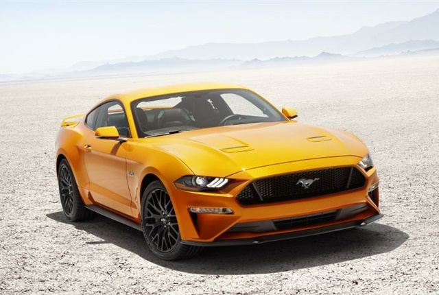 Photo of 2018 Mustang GT courtesy of Ford.