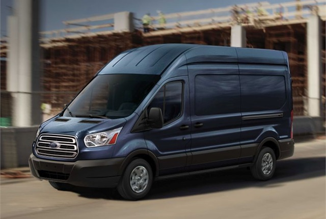 Photo of medium-roof Transit courtesy of Ford.